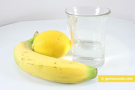 Ингредиенты для Бананового Дайкири