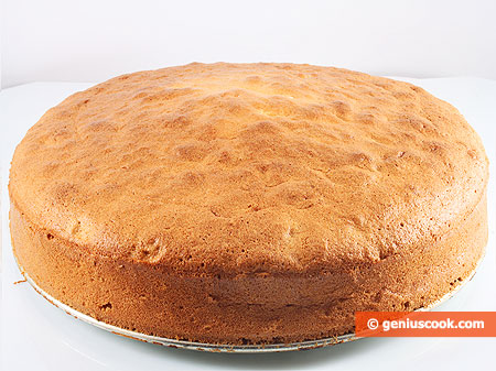 бисквит с духовке рецепт с фото