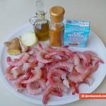 Ингредиенты для креветок в соусе карри