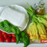 Ингредиенты для фаршированных цветов тыквы