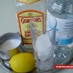 Ингредиенты для коктейля Джон Коллинз