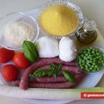 Ингредиенты для запеканки из поленты