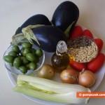 Ингредиенты для Капонаты алла Сичилиана