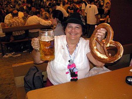 Огромные крендели к пиву