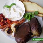 Ингредиенты для тостов с овощной икрой
