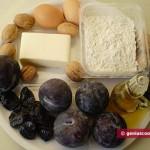 Ингредиенты для Сливового штруделя