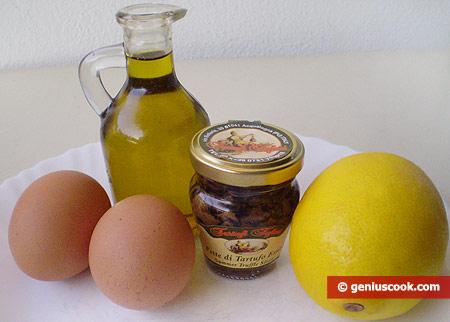 Ингредиенты для трюфельного майонеза