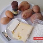 Ингредиенты для картофельных оладий