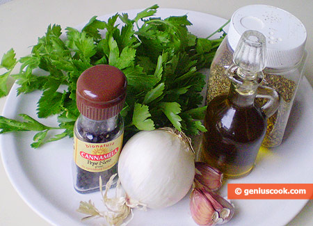 Ингредиенты для соуса чимичурри
