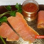 Ингредиенты для роллов с красной икрой