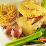 Ингредиенты для супа из петуха