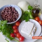 Ингредиенты для критского салата