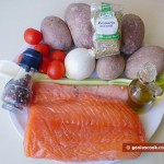 Ингредиенты для лосося с картофелем