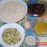 Ингредиенты для батончиков мюсли с тыквенными семечками