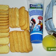 Ингредиенты для пирожных Павесини