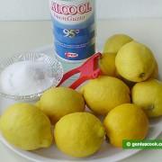 Ингредиенты для Лимончелло