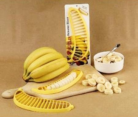 Нож для быстрой нарезки бананов