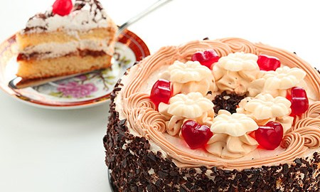 Сладкий и жирный торт! 11 мая можно!
