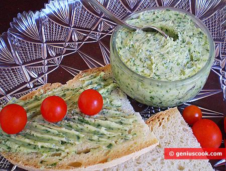 Ароматное Зелёное Масло готово