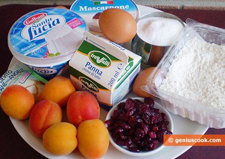 Ингредиенты для сливочных кексов