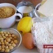 Ингредиенты для орехового печенья