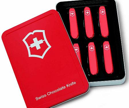 Швейцарские Шоколадные ножи