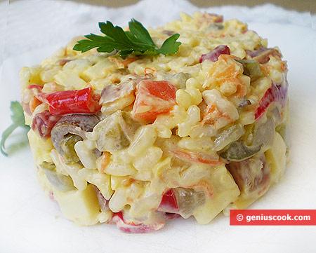 Итальянский Рисовый Салат
