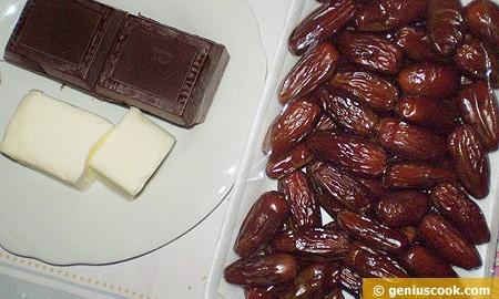 Ингредиенты для домашних конфет с финиками