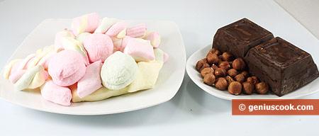 Ингредиенты для пирожных без выпечки