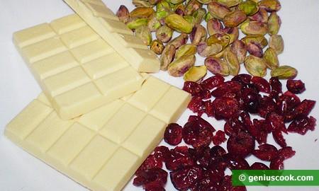 Ингредиенты для шоколада с наполнителями
