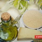 Ингредиенты для гратена из фенхеля