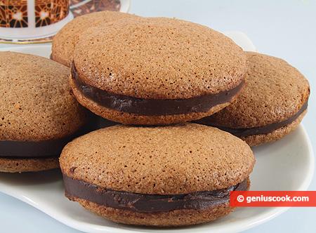 Шоколадное Миндальное Печенье
