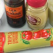 Ингредиенты для розового соуса