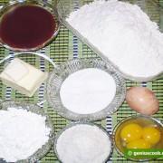 Ингредиенты для Аргентинского Печенья Альфахорес