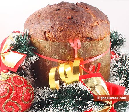 Итальянский Рождественский Панеттоне