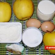 Ингредиенты для яблочных пончиков