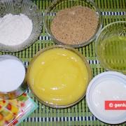 Ингредиенты для торта Лимонный мусс