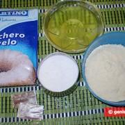 Ингредиенты для шафрановых макаронс