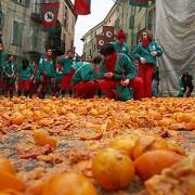 Апельсиновая битва в Иврее