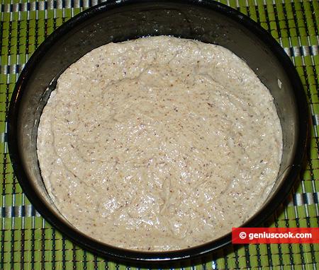 Тесто для коржа в форме