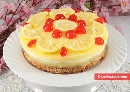 """Торт """"Лимонный мусс"""""""