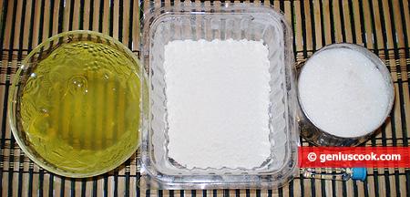 Ингредиенты для ангельского бисквита