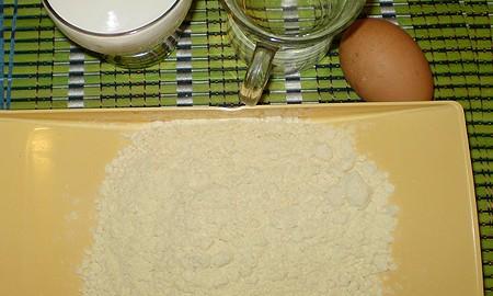 Ингредиенты для нутовых блинчиков