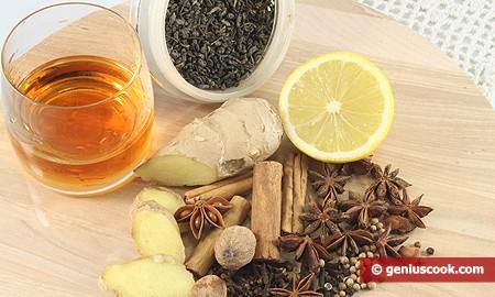 Ингредиенты для Грога с Ромом и Специями