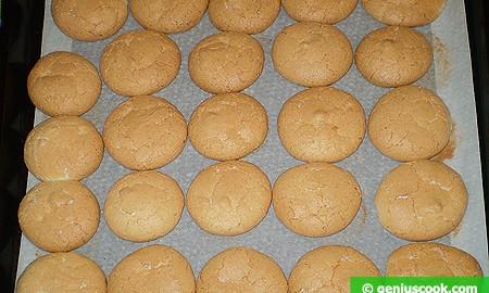 Ореховое печенье на противне