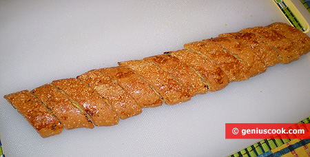 Разрезанный багет