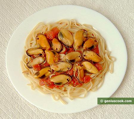 блюда итальянской пасты: