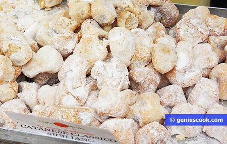 Сицилийские сладости из миндаля