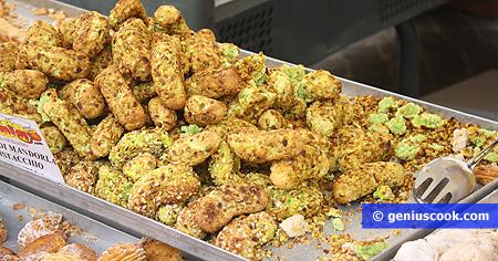 Сицилийские сладости из фисташек