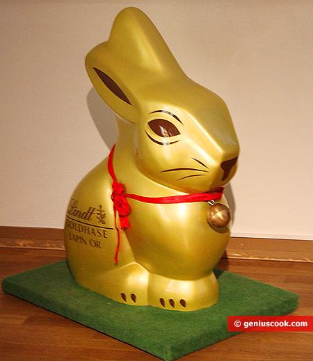Шоколадный Рождественский кролик